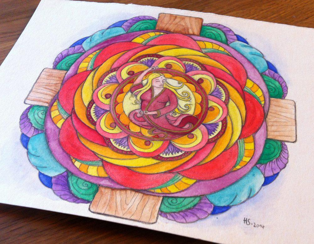 Persönliches Mandala von Holger Schramm