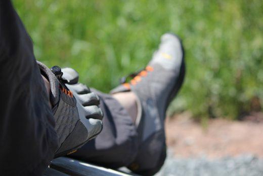 Barfußwandern und Barfußschuhe im Frankenwald