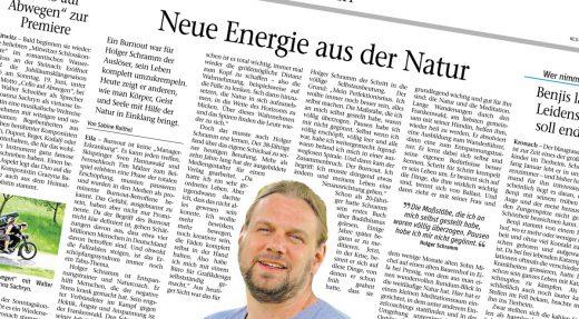 Presseartikel in der Neuen Presse Kronach, 28.05.2016