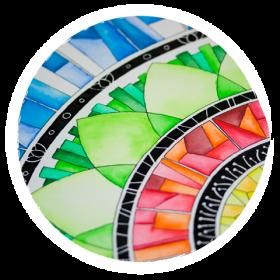 Kreativ Entspannen: Mandalas und Zentangle